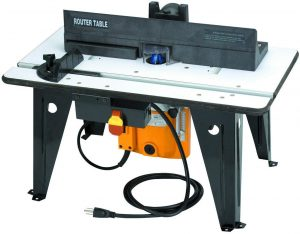 Benchtop Router Table with 1-3 4 HP Router