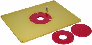 MLCS 9334 1 4 Inch Thick Aluminum Router Plate