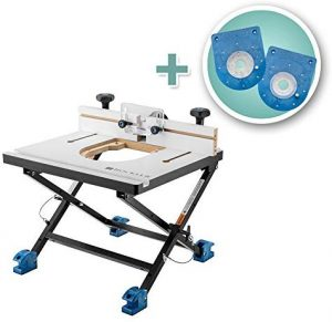 Rockler Convertible Benchtop Compact Router Table