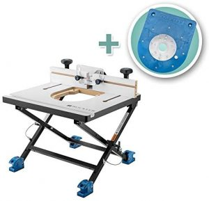 Rockler Convertible Benchtop Router Table