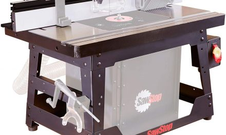 SawStop Router Table Review – Benchtop